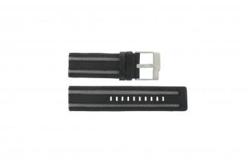 Bracelet de montre Fossil JR9934 Cuir Noir 26mm