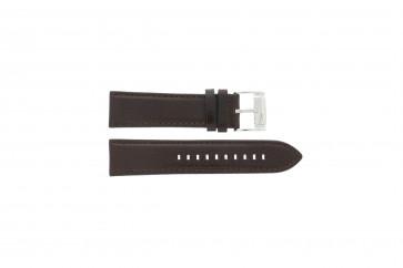 Bracelet de montre Fossil ME1020 Cuir Brun 24mm