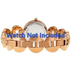 Fossil bracelet de montre ES-3011 Métal Or (rosée) 24mm