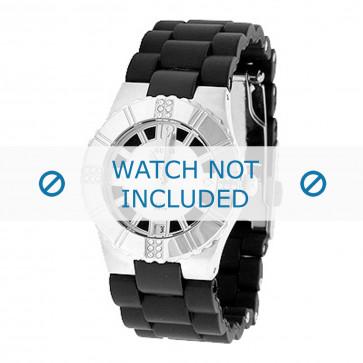 Guess bracelet de montre 80332L1 Plastique Noir