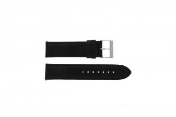Guess bracelet de montre W10562G3  Cuir Noir 22mm
