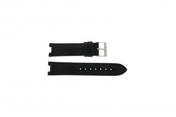 Guess bracelet de montre W11607L2 Cuir Noir 19mm