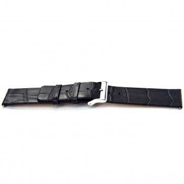 Bracelet de montre Universel I810 Cuir Gris 24mm