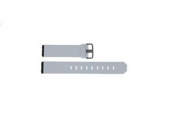Bracelet de montre Jacob Jensen 800 / 600 Cuir Blanc 19mm