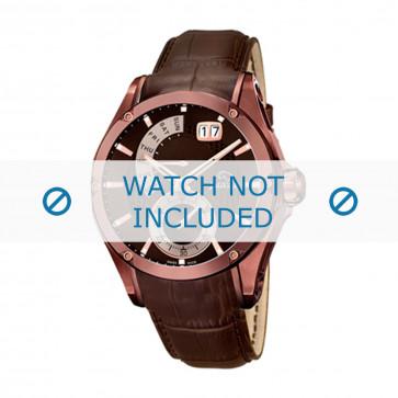 Jaguar bracelet de montre J680-A  Cuir Brun 22mm