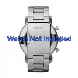 Fossil bracelet de montre JR1353 Métal Argent 24mm