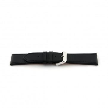 Bracelet en cuir noir xl 24mm EX-K63487