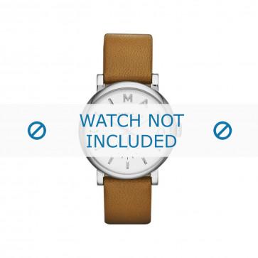 Bracelet de montre Marc by Marc Jacobs MBM1265 / MBM3242 Cuir Cognac 18mm