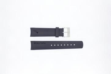 Nautica bracelet de montre A30004G / A12627G / A12627G / A14555 Caoutchouc Bleu 22mm