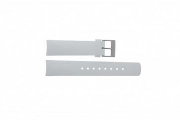 Nautica bracelet de montre A31504G / A30005G / A16586G En caoutchouc Blanc 22mm