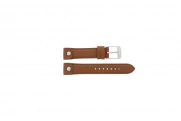 Bracelet de montre Michael Kors MK2165 Cuir Brun 18mm