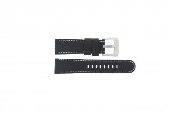 Danish Design bracelet de montre IQ13Q712 Cuir Noir 20mm