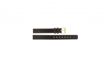 Skagen bracelet de montre 358XSGLD Cuir Brun 12mm