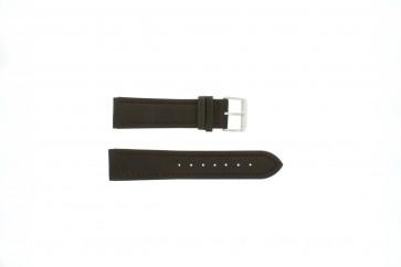 Bracelet de montre Universel H372 Cuir Brun 22mm