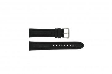 Pulsar bracelet de montre Y182-6C10 Cuir Noir 20mm