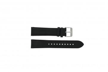 Pulsar bracelet de montre YM62-X225 Cuir Noir 20mm