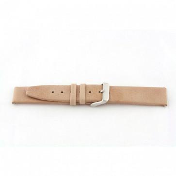 Bracelet de montre Universel H850 Cuir Beige 22mm