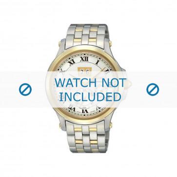 Seiko bracelet de montre SNP042P1 / 7D48-0AG0 03B / M0NB111C0 Métal Argent 20mm
