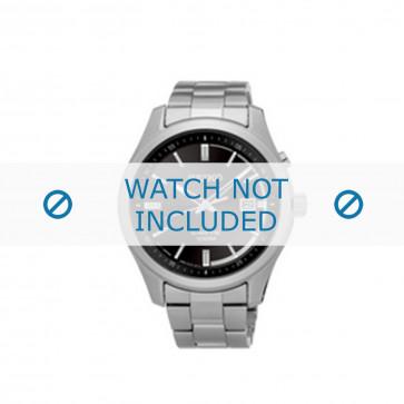 Seiko bracelet de montre SKA719P1 / 5M82 0AV0 Métal Argent 20mm
