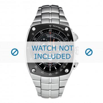 Bracelet de montre Seiko 7L22-0AD0 / SNL015P1 / 33V1JZ Acier 15mm