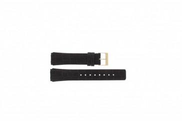 Bracelet de montre Skagen 331XLRLD / 331XLRLDO Cuir Brun 19mm