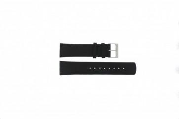 Bracelet de montre Skagen 355XLSLB Cuir Noir 23mm