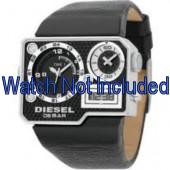 Bracelet de montre Diesel DZ7101 Cuir Noir 39mm
