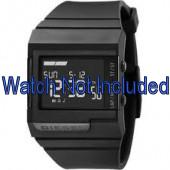 Diesel bracelet de montre DZ7150 Silicone Noir 23mm