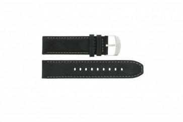 Timex bracelet de montre P49988 Cuir Noir 22mm