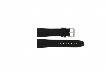 Bracelet de montre Tommy Hilfiger TH1790833 / TH-175-1-14-1202 Cuir Noir 24mm