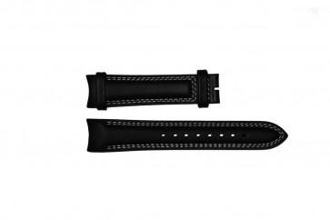 Bracelet de montre Breil TW0678 Cuir Noir 22mm