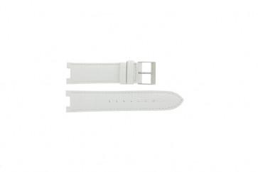 Guess bracelet de montre W11008L1 Cuir Blanc 21mm + coutures défaut
