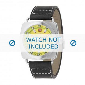 Bracelet de montre Zodiac ZO2601 Cuir Noir