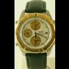 Bracelet de montre Seiko 7T42 6A0B / SDX014J1 Cuir Noir 20mm