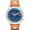 Bracelet de montre Fossil AM4554 Cuir Brun 22mm