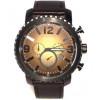 Bracelet de montre Fossil BQ2080 Cuir Noir 24mm