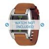 Bracelet de montre Diesel DZ1049 Cuir Cognac 18mm