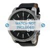 Bracelet de montre Diesel DZ4208 Cuir Noir 26mm