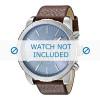 Bracelet de montre Diesel DZ4330 Cuir Brun 27mm