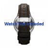 Bracelet de montre Fossil FS4737 Cuir Brun 22mm
