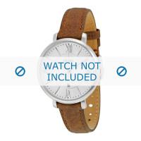Bracelet de montre Fossil ES3708 Cuir Brun 14mm