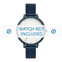 Skagen bracelet de montre SKW2579 Métal Bleu 12mm