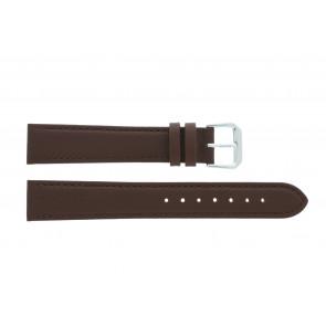 Bracelet de montre 054L.02.12 Cuir Brun 12mm + coutures brunes