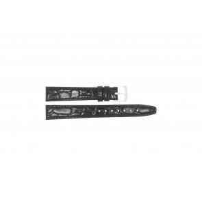 Bracelet de montre Condor 082R.01 Cuir Noir 14mm