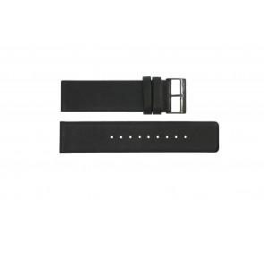 Bracelet de montre Obaku 116-Z Cuir Noir 24mm