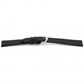 Bracelet de montre Universel F154 Italian Cuir Noir 18mm