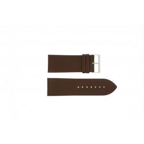 Bracelet de montre Universel Pebro 169-30 Cuir Brun 30mm