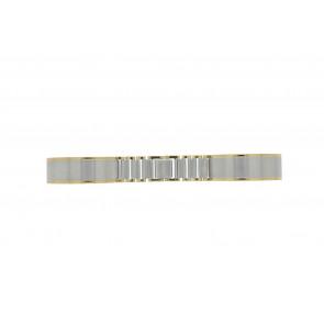 Bracelet de montre 16BI Métal Argent 16mm