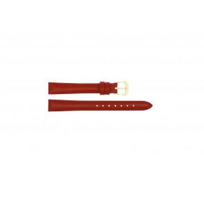 Bracelet de montre Condor 241R.06 Cuir Rouge 14mm