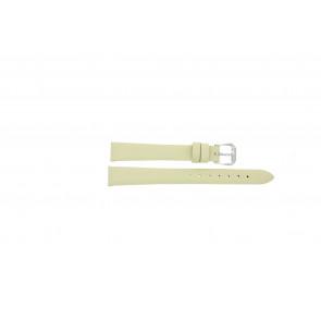 Bracelet de montre Condor 241R.00.12 Cuir Blanc crème 12mm